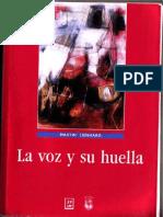 Lienhard, Martin. La Voz y Su Huella
