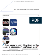Como Reparar El Error_ _Servicio de Perfil de Usuario Al Iniciar Sesion_ en Windows Vista