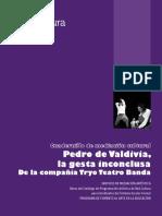 F CuadernilloPedro de Valdivia La Gesta Inconclusa