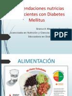 Recomendaciones Nutrimentales Para Diabetes