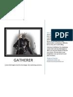 Gatherer Ore Beta