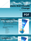 atomosphere and climate change
