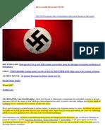 19-05-2017-10 Raisons Pour Lesquelles La Suisse Est L'Accueil Secret Des NAZIS