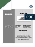 2. Master Soal Usbn Pai Sma Smk k2006 2016 2017 Utama p2