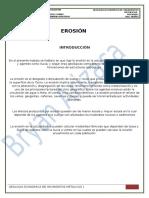 Erosion - Yacimientos
