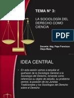 Tema N_ 3 La Sociologia Del Derecho Como Ciencia