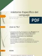 Trastorno Específico Del Lenguaje (1)