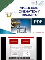 Viscocidad Dinamica y Cinematica