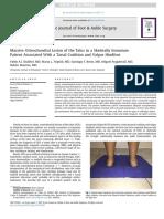 JFAS - 2017 - Slullitel - Massive Osteochondral Lesion of Talus in Skeletally Immature Pt. Associated w Tarsal Coalition and Valgus HF