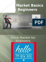 Stockmarket Basics for Beginners