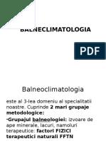 Bioclimatul CD 2017