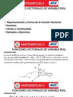 Clase 6-Funciones Vectoriales de Variable Real