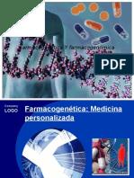 Farmacogenetica y Farmacogenomica.