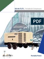 Air Compressors Export 750 1050cfm T2T1