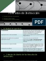 Formatos de Instrucción