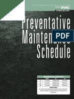 Preventive Maintenance Product Sheet