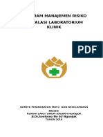 # Program Manajemen Risiko Unit Laborat