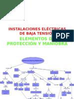 Elementos de Protección y Maniobra