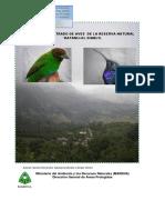 Manual Ilustrado de Aves de La Reserva Natural Datanli El Diablo