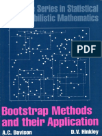Davison, Hinkley -Bootstrap Methods and Their Application