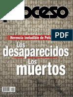 Revista Proceso 1887 Los desaparecidos, los muertos