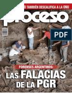 Revista Proceso n.1998 Forenses Argentinos Las Falacias de La Pgr