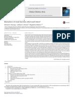 Biomarcadores de Funcion Renal Cual y Cuando Clinicachimicaacta2015