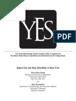 Alpine Fizz and Male Infertility a Mock Trial