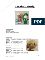 Crochet Newborn Maddy Doll