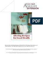 Altering Recipes for Good Health