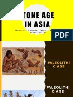 Stone Age in Asia