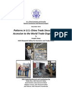 20121127 Patterns in US-China Trade Since China's Accession to the WTO