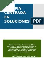 10) Terapia Centrada en Soluciones 2015-2