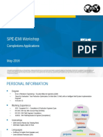 SPE-EMI Completions Applications