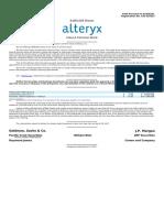 Alteryx, Inc.