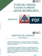 Gestión Del Riesgos Aplicada a Une-En 9100 LMGF