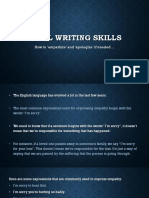 Email Writing skills.part 5.how to 'empathize' and 'apologize' if needed.pptx