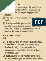 1 Peter 2.21.25