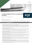 income tax return statement