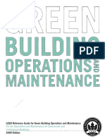 Reference Guide for Operations and Maintenance