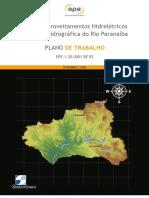 Plano de Trabalho Rio Paranaiba