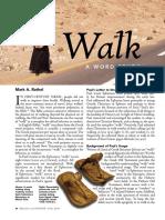 Walk, a word study