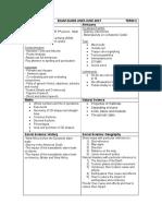 Grade 7 Exam Guidelines - Term 2 2017