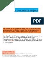 Archivos o Ficheros en Java
