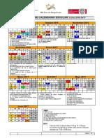 Calendar i o 20162017