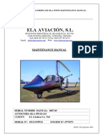 Autogiro Ela, Maintenance Manual m07 03 Issue 2 Sep 2009.