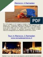 Tour in Marocco Il Ramadan