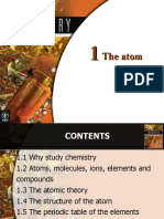 Chemistry-Ch01 the Atom