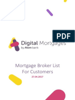 Atom Bank Mortgage Broker List