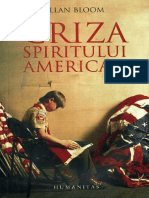 338326445 Allan Bloom Criza Spiritului American